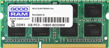 Goodram 4GB 1066MHz CL7 DDR3 SODIMM GR1066S364L7/4G