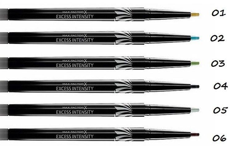 Max Factor Excess Intensity Longwear Eyeliner 06 Brown