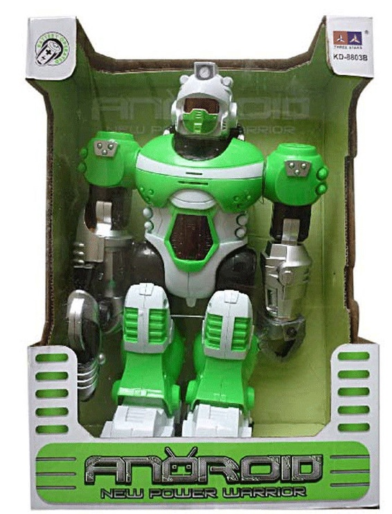 Игрушечный робот Tommy Toys Robot Android Green