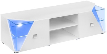 TV-laud ASM RTV Edge White Gloss, 1500x500x480 mm