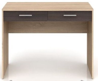 Black Red White Nepo Plus Desk Sonoma Oak/Wenge