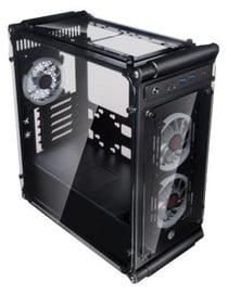 Raijintek Coeus Elite TC Micro-ATX Tower Black