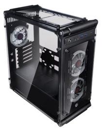 Raijintek Coeus Elite TC Micro-ATX Tower Black