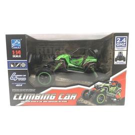 Žaislinė mašina valdoma radijo bangomis, žalia