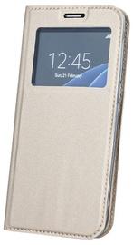 Blun Premium Matt Eco-leather Smart S-View Book Case For Huawei Mate 10 Lite Gold