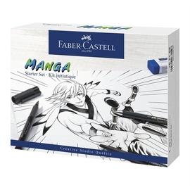 Krāsošana komplekts Faber Castell Manga Starter Set, vienpusējs, 8 gab.
