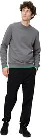 Audimas Straight Fit Stretch Sweatpants With Cotton Black 184/M