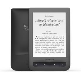Elektroninių knygų skaityklė Pocketbook Touch LUX3 Dark Grey