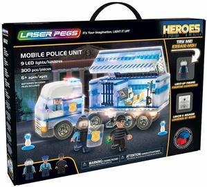 Konstruktorius Laser Pegs Mobile Police Unit 18602 (bojāts iepakojums)