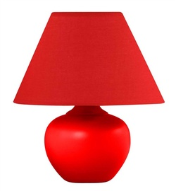 Galda lampa D3265S 40W E14, sarkana