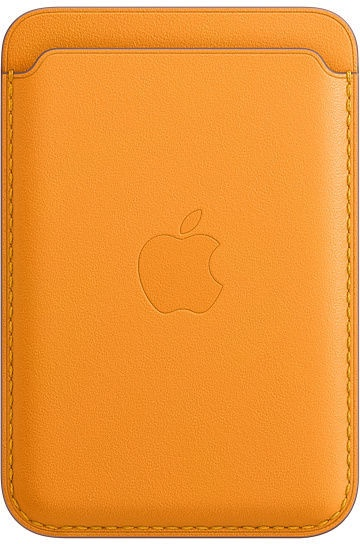 Apple iPhone Leather Wallet with MagSafe California Poppy