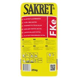 Plytelių klijai Sakret FKe, 25 kg