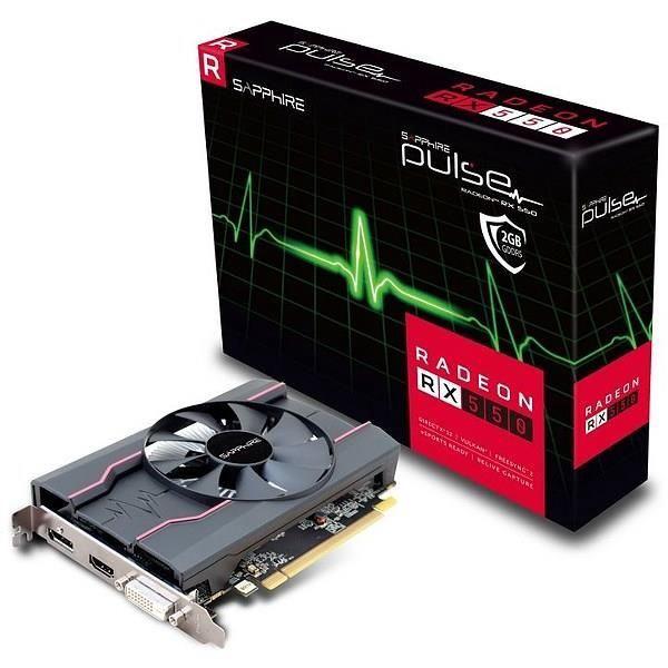 Sapphire AMD Radeon RX 550 2GB GDDR5 PCIE 11268-21-20G
