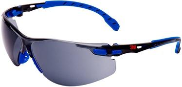 3M Solus Safety Glasses Grey Lens Blue/Black