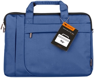 "Canyon Fashion Toploader Laptop Bag For 15.6"" Blue"
