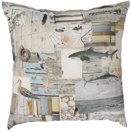 Home4you Holly Pillow 45x45cm Sea Life