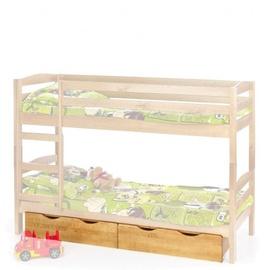 Stalčių komplektas 2 vnt, lovai Sam, pušies spalvos