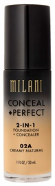 Milani Conceal + Perfect 2in1 Foundation + Concealer 30ml 02A