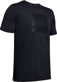 Under Armour Mens Unstoppable Knit T-Shirt 1345643-001 Black XXL