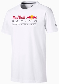 Puma Red Bull Racing Logo T-Shirt 595370-03 White XL