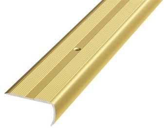 Laiptų kampas D13, aukso, 90 x 4 x 2 cm
