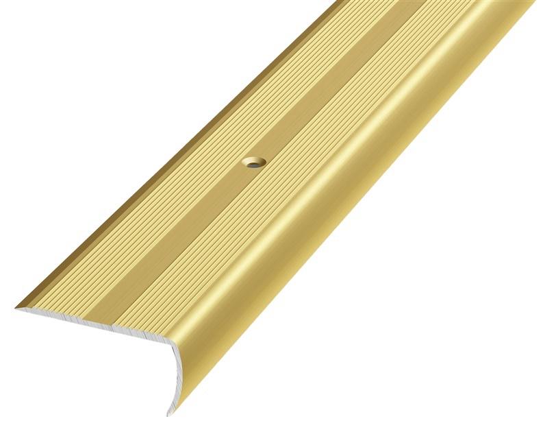 Kāpņu leņķis Grace Stair Nosing D13 0.9m Gold