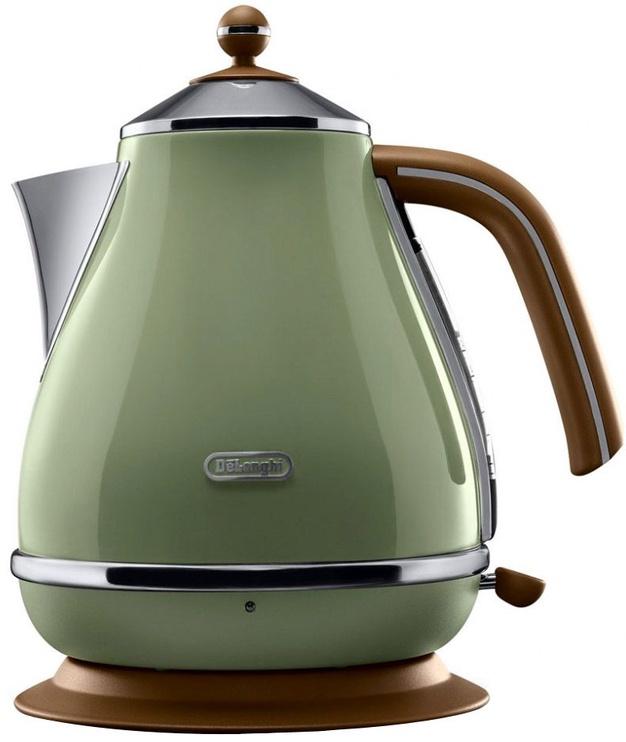 Электрический чайник De'Longhi KBOV2001GR, 1.7 л