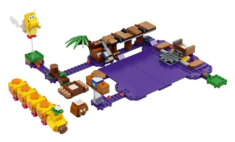 Constructor LEGO Super Mario Wigglers Poison Swamp Expansion Set 71383