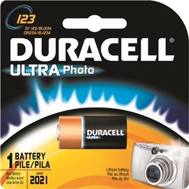 Duracell DL123 Ultra Photo Battery x 1