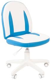 Детский стул Chairman 122, синий/белый, 400 мм x 965 мм