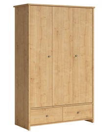 Black Red White Porto 128 Wardrobe Burlington Oak