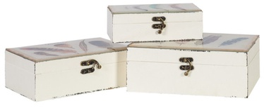 Home4you Fluffy Wooden Boxes 3pcs