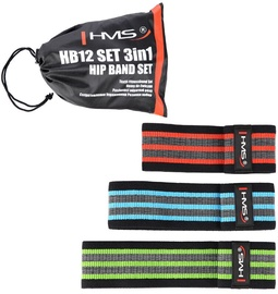 HMS HB12 3in1 Set Of Hip Band Rubbers