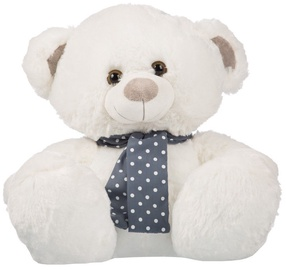 Axiom Plush Silver Collection Teddy Bear White 35cm