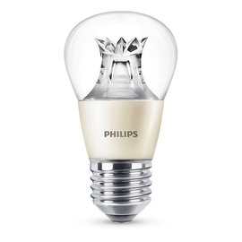 Spuldze led Philips P48, 6W, E27, 2700K, 470ml, DIM