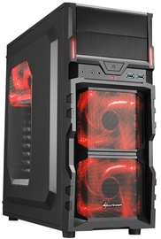 Sharkoon VG5-W Mid-Tower Red
