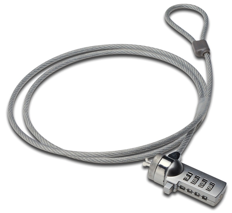 Ednet Notebook Lock With Number Cmbination