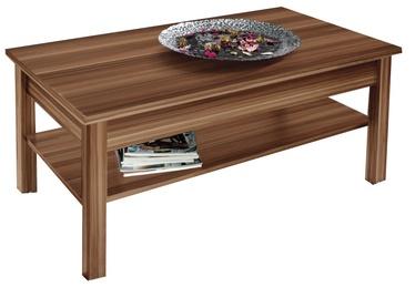 Kafijas galdiņš Cama Meble Plum, brūna, 1100x470x600 mm