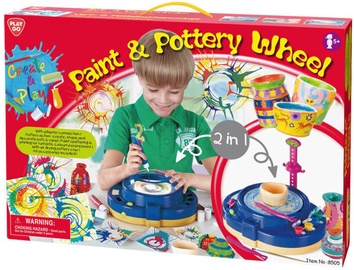 PlayGo Paint & Pottery Wheel 2in1 8505