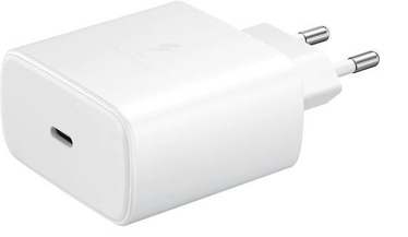 Samsung Super Fast USB Type-C Wall Charger + USB Type-C Cable White