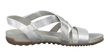 Basutės, Tamaris Sandal 1-1-28604-22 Silver Combination 37