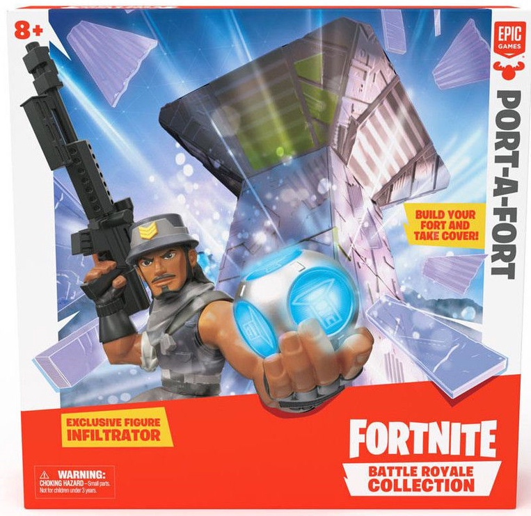 Epic Games Fortnite Battle Royale Collection Playset Port-A-Fort
