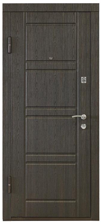 Дверь SN Steel Door Optim Po-09 Wenge Left 860x2050mm