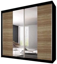Idzczak Meble Wardrobe Multi 36 233 Black/Sonoma Oak