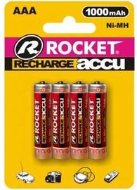 Uzlādējamais elements Rocket Recharge Accu HR03-4/BL AAA 4pcs