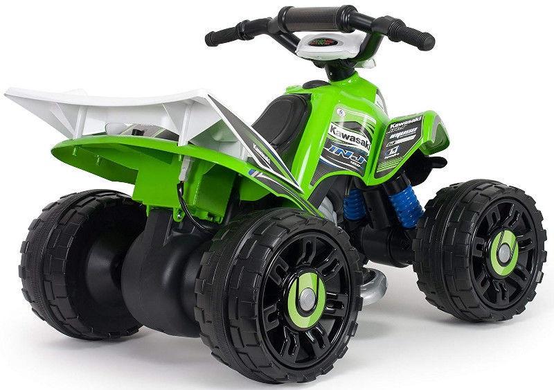 Injusa Quad Kawasaki ATV 12V Green 66055