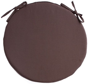 Home4you Frankfury 2 Chair Pad 38cm Brown