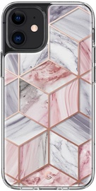 Spigen Cyrill Cecile Back Case For Apple iPhone 12 Mini Pink Marble