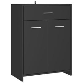 Шкаф для ванной VLX 805026, серый, 33 x 60 см x 80 см