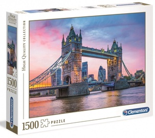 Clementoni Puzzle High Quality Collection Tower Bridge Sunset 1500pcs 31816